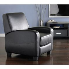 Mainstays Home Theater Recliner, Black