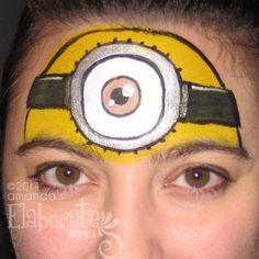 Amanda's Elaborate Eyes Face & Body Painting | The fabulous Face ...