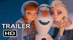 Olaf's Frozen Adventure Short Film Official Trailer #1 (2017) Animated M...