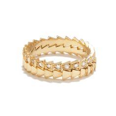 Diamond Trace Ring Set - Tilda Biehn