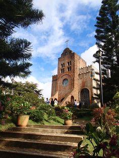 The church at Caleruega in Batulao, Nasugbu, Batangas.