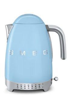 Smeg  Variable Temperature Kettle Klf02 - Pastel Blue - One Size