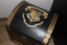 Wooden trunk Hogwarts