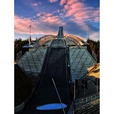 Holmenkollen ski jump hill Ski Jumping, Opera House, Skiing, Louvre, Building, Travel, Ski, Voyage, Trips