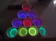 Just in case you want to play beer pong in the dark?