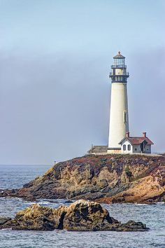 Pigeon Point Lighthouse by Heidi Smith! ©