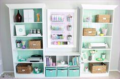 Easy Diy Storage Ideas Diy Home Office Storage Ideas 10 Craft Supply Pegboard Home Office Storage, Craft Room Storage, Office Organization, Diy Storage, Storage Ideas, Craft Rooms, Storage Bins, Creative Storage, Closet Storage