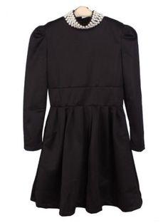 http://www.sheinside.com/Black-Long-Sleeve-Pearls-High-Neck-Dress-p-105113-cat-1727.html#?src=ls=Kr48hBggoYo-8MIfZ9JiPpItLLQDzi1gyQ  Black Long Sleeve Pearls #High Neck Dress $31.77