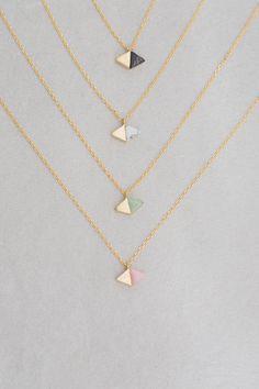 Equinox Stone Necklace $20