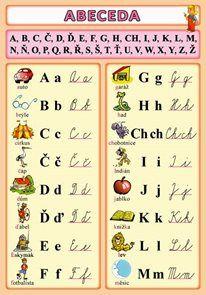 Abeceda - SEVT.cz Leyte, Petra, Thriller, Roman, Periodic Table, Bullet Journal, Marketing, Montessori, Periodic Table Chart