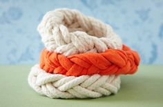 SAILOR'S KNOT BRACELET...very easy and very cool! Home Made Simple has the directions...but, I had to share this as it was too cute to not share! I love it!
