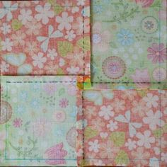 Cosido a mano Patchwork Quilting, Quilts, Tutorial Patchwork, Ideas Paso A Paso, Decorative Boxes, Patches, Blanket, Sewing, Fabric