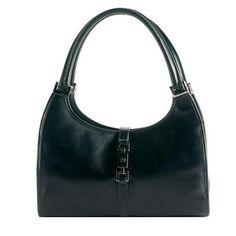 53fe2ed762b23 Pre-Owned Gucci Leather  Bardot  Shoulder Handbag Purse Black. Ronda  Shinaver · Gucci Handbags sale!!!