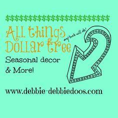 20 + Dollar tree seasonal decor ideas, wreaths, crafts and more!