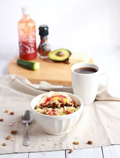Spicy Green Breakfast Bowl via @KristineBerube from Carrotsandcupcakes.com