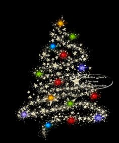 Christmas Tree Lights GIF This Would Be A Cute Design Painted On Fabric For  A Pillow Etc