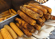 Grilled corn on the cob in Istanbul | Azamara's Guide to the Best Street Food Around the World | Azamara Club Cruises