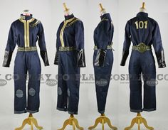 Vault 101 Costume from Fallout 3 - Tailor-Made Cosplay Costume
