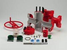 This gate valve model will be used for training by our client, FMC Technologies. It's a cutaway model and has working parts as well. https://www.kiwimill.com/gate-valve-model/