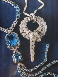 Bulgari Serpenti Necklace Editorial @Vogue Spain August 2015