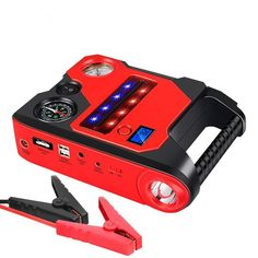 12v 6L gas and 3L diesel portable jump starter and air compressor - #12V #air #compressor #diesel #gas #Jump #portable #starter