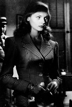 The Outsiders- Lauren Bacall in To Have and Have Not, 1944