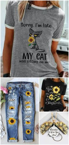 💗Enjoy 5% Off Off on your first order.✨$15 OFF OVER $90 ✨$30 OFF OVER $140 ✨$50 OFF OVER $200 Fasion, Fashion Outfits, Womens Fashion, Cute Dresses, Cute Outfits, Diy Clothes, Comfy Clothes, Mama Shirt, Christian Shirts