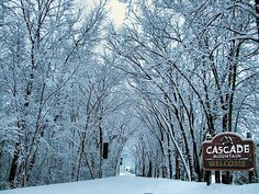 Cascade Mountain - Wisconsin  Been here many times with Paul and Norene skiing  , snowmobiling , horseback riding for weekend trips,