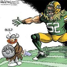 LOL! Packers vs Vikings
