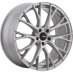 18x8 Silver Wheel Konig Interflow 5x100 40