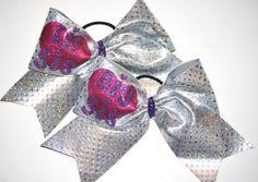 Lil Sis Big Sis Cheer Bow Set by Justcheerbows on Etsy, $25.00