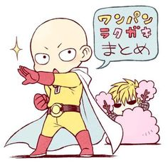 One Punch Man - Saitama&Genos