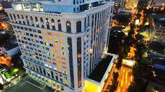Hotel Adimulia Medan adalah hotel bintang 4 yang lokasinya cukup strategis. Dekat dengan stasun kereta, tempat ibadah, kuliner dan belanja (Odilia/detikTravel)
