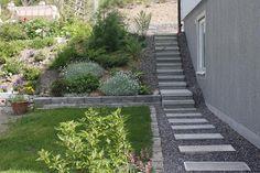Lisa´s Trädgård: Gjuta trappsteg i cement