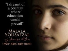 Malala Yousafzai is the initial girl which means and sustaining woman education and learning without having stressing over her individual life. Malala Yousafzai is represented as heroic woman of Malala Yousafzai Zitate, Malala Yousafzai Quotes, Life Quotes Love, Woman Quotes, Quotes Women, We Are The World, In This World, Girl Education Quotes, Leadership Quotes