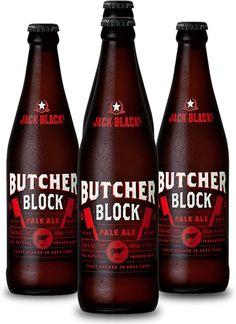 JACK BLACK BUTCHERS BLOCK #CraftBeer #CapeTown #JackBlackBeer Block Craft, Jack Black, Craft Beer, Beer Bottle, Liquor, Ale, Clock, African, Branding