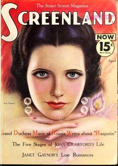 Screenland (Apr-Oct 1933)  Love Kay Francis!