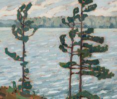 A.J. Casson - Lake Rosseau 9.25 x 11.25 Oil on board (1922) Tom Thomson, Group Of Seven, Fine Art Auctions, Art Of Living, Autumn Trees, Cool Art, Nice Art, Joseph, Landscape