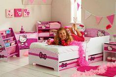 CAMA INFANTIL DE HELLOY KITTY, ideal para las reinas de la casa