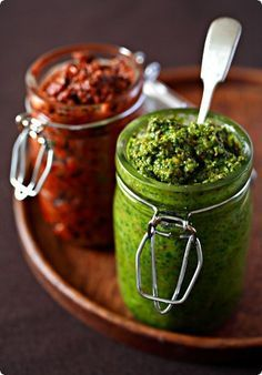 Sicilian Nut Pesto and Pesto Rosso  I can safely say that almost without exception, my taste for the finer things in life waited until I was well past childhood to come out of hiding. I…