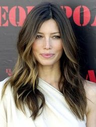 balayage - light brown