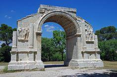 L'arc municpal de Saint-Rémy de Provence.Provence-Alpes-Cote d'Azur