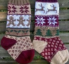 Trendy Knitting Fair Isle Socks Christmas Stockings – The Best Ideas Fair Isle Knitting Patterns, Christmas Knitting Patterns, Knitting Charts, Knitting Socks, Knitted Christmas Stockings, Knit Stockings, Motif Fair Isle, Crochet Decoration, Yarn Crafts