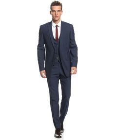 Bar III Suit Separates, Midnight Blue Slim Fit - Mens Suits & Suit Separates - Macy's