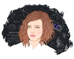 13 reasons why – Hannah Baker illustration – Crecre, 13 Reasons Why Fanart, 13 Reasons Why Reasons, Thirteen Reasons Why, Movies And Series, Web Series, Illustration, Fan Art, Drawings, Drawing Sketches