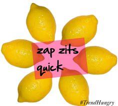 Zap Zits Quick: DIY Blemish Blaster Spot Treatment
