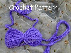 (4) Name: 'Crocheting : Mermaid Seashell Top