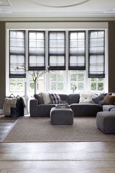 Prachtige raamdecoratie #stijlvolwonen #exquisite #raamdecoratie #windowdecoration #bece #inspiration #vouwgordijnen #windowblinds