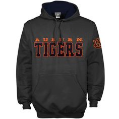 Football season is coming near and so is the colder weather. Keep warm and in top Tigers spirits with this Preseason pullover hoodie! This soft fleecelined hoodie displays Auburn Tigers lettering on the chest. For an extra dose of Auburn style, the left sleeve features an embroidered twill tackle logo applique. Youll be warm and covered in team spirit whenever you decide to don this sweatshirt!'