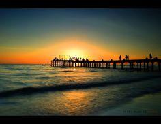 """Sunset at Akkarena Beach - Makassar, Indonesia"""